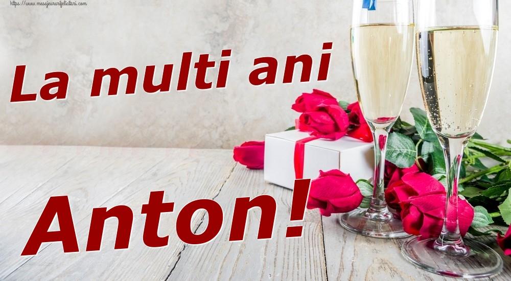 Felicitari de zi de nastere | La multi ani Anton!