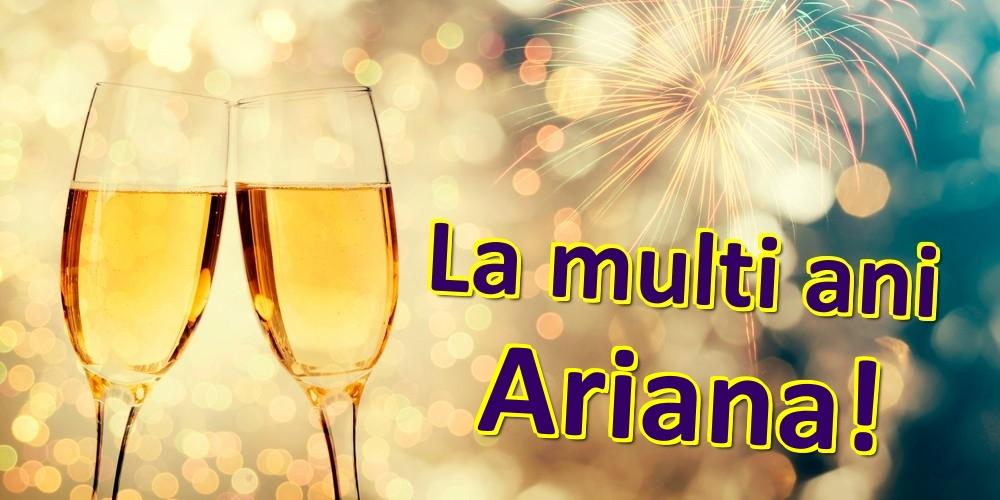 Felicitari de zi de nastere | La multi ani Ariana!