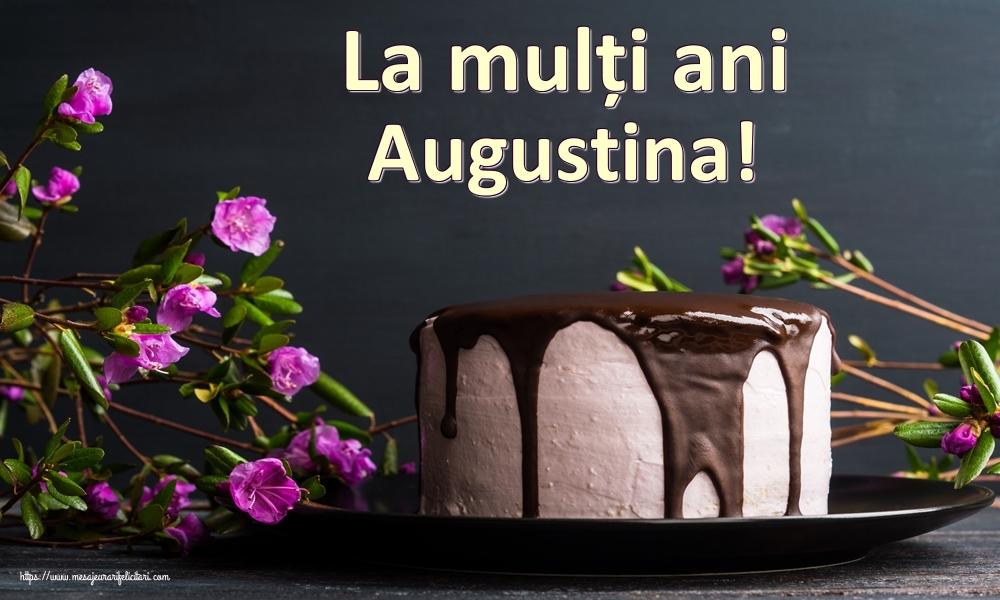 Felicitari de zi de nastere | La mulți ani Augustina!