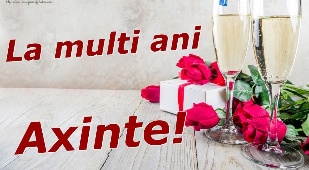 Felicitari de zi de nastere | La multi ani Axinte!