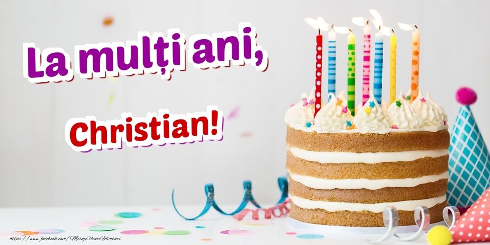 Felicitari de zi de nastere | La mulți ani, Christian