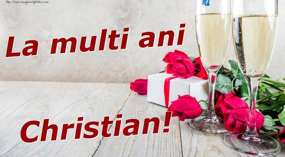 Felicitari de zi de nastere | La multi ani Christian!