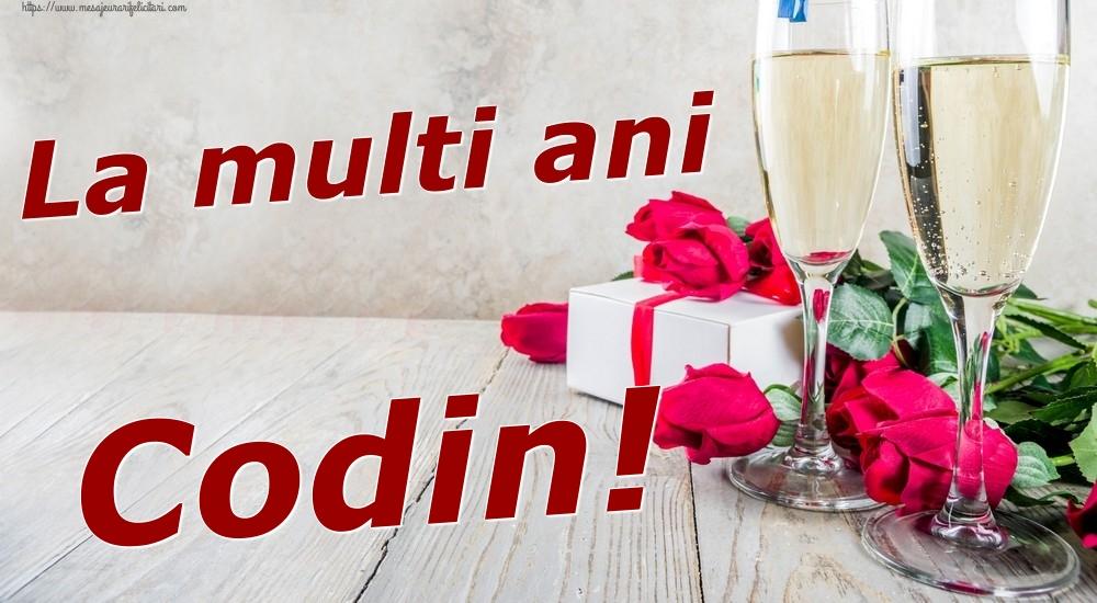 Felicitari de zi de nastere   La multi ani Codin!