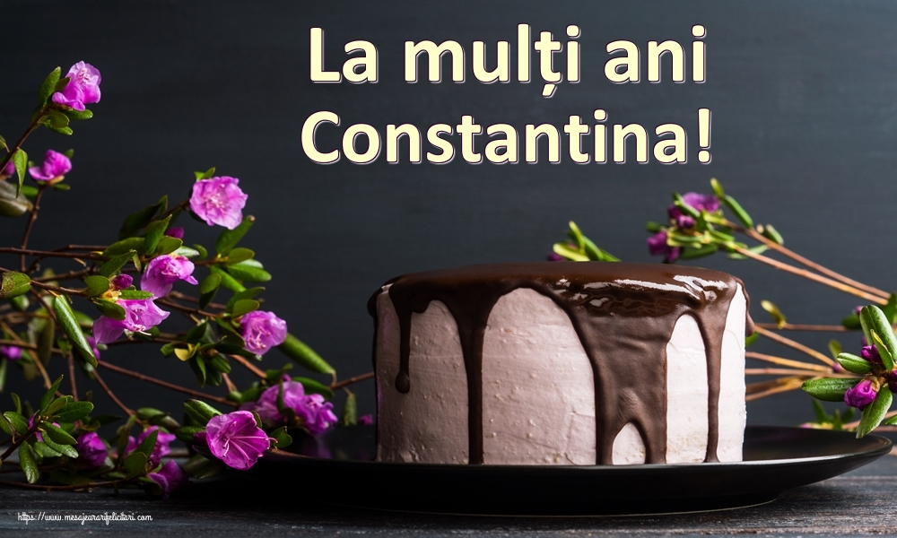 Felicitari de zi de nastere | La mulți ani Constantina!