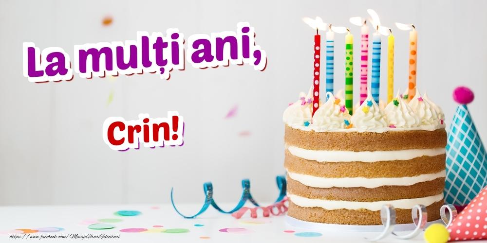 Felicitari de zi de nastere | La mulți ani, Crin