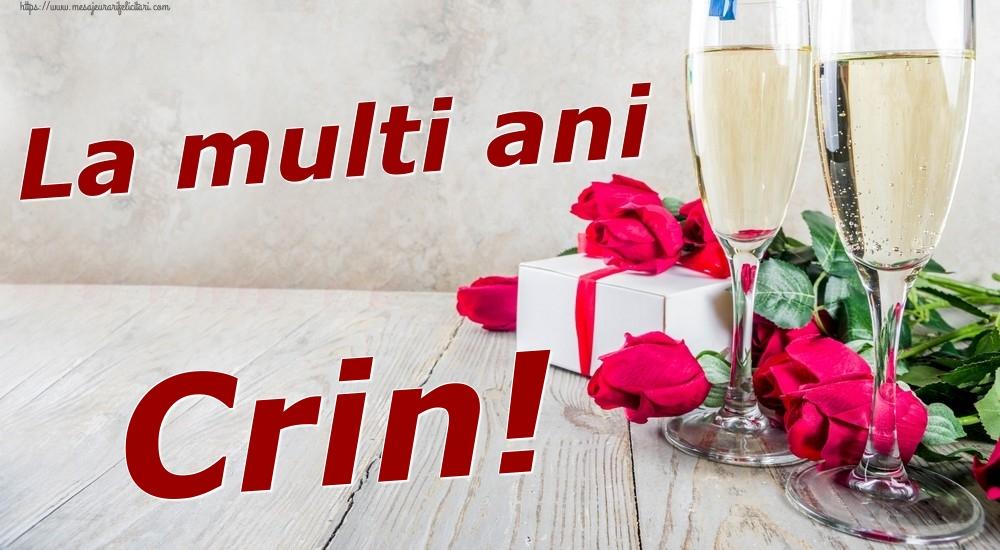 Felicitari de zi de nastere | La multi ani Crin!