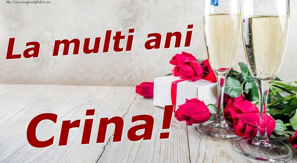 Felicitari de zi de nastere | La multi ani Crina!