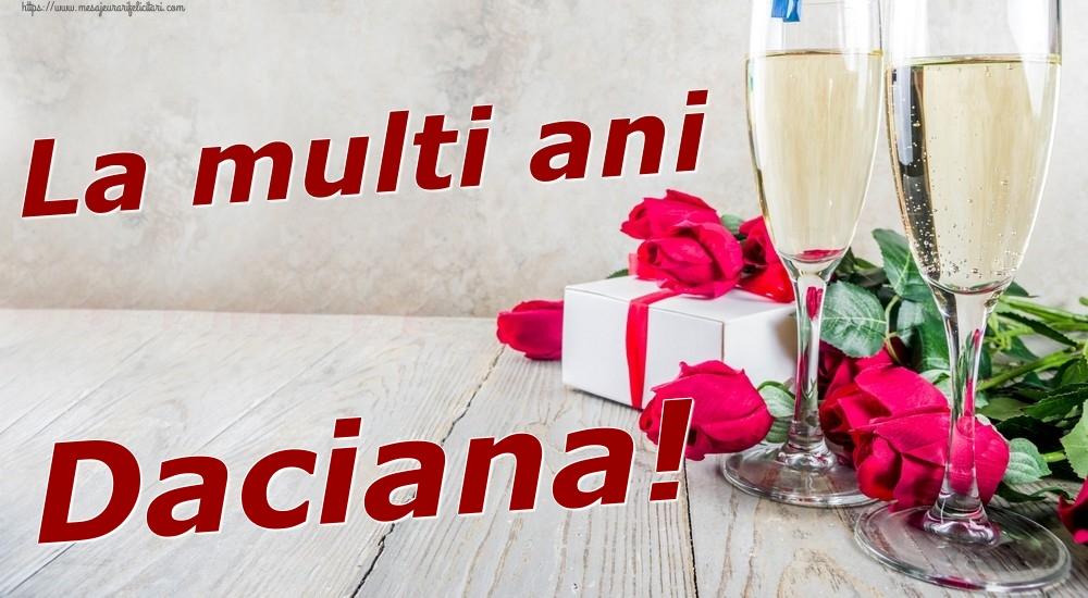 Felicitari de zi de nastere | La multi ani Daciana!