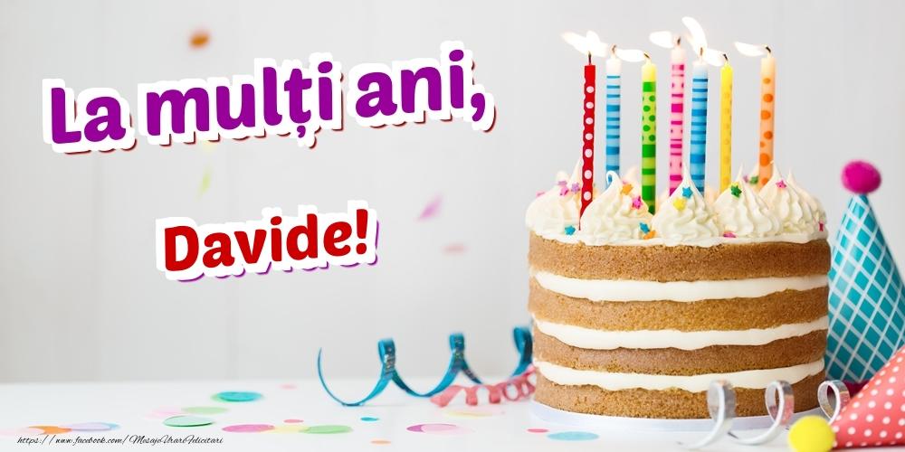 Felicitari de zi de nastere | La mulți ani, Davide