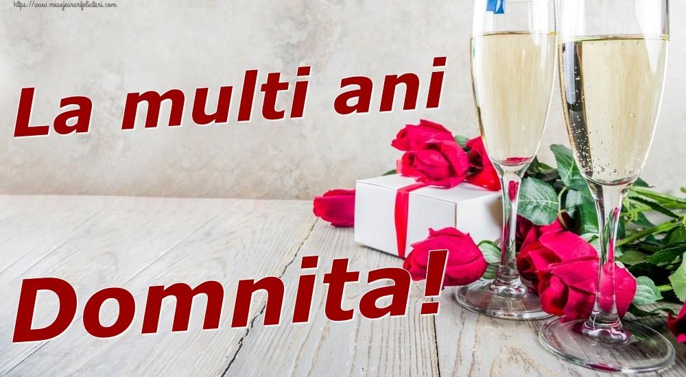 Felicitari de zi de nastere   La multi ani Domnita!