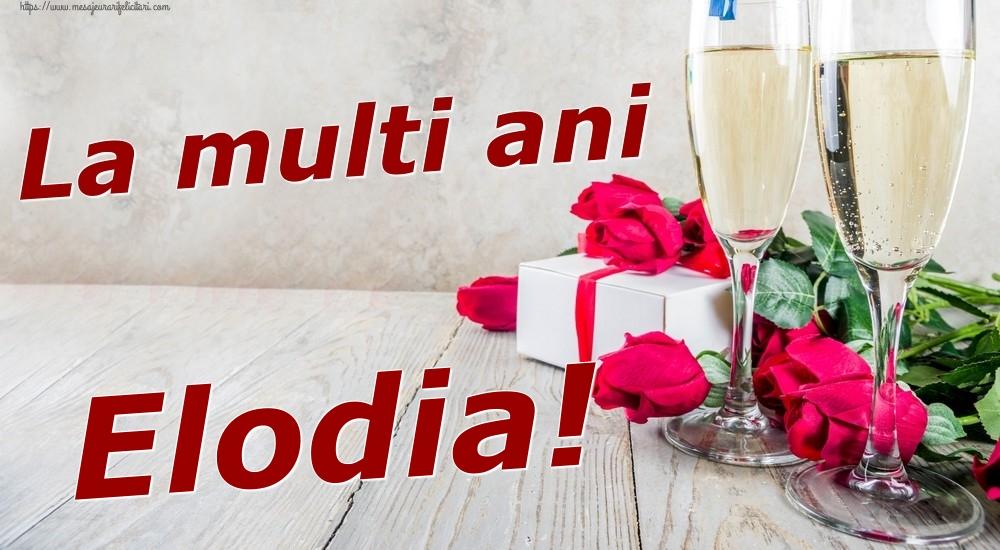 Felicitari de zi de nastere | La multi ani Elodia!