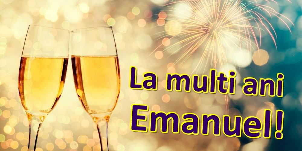 Felicitari de zi de nastere | La multi ani Emanuel!