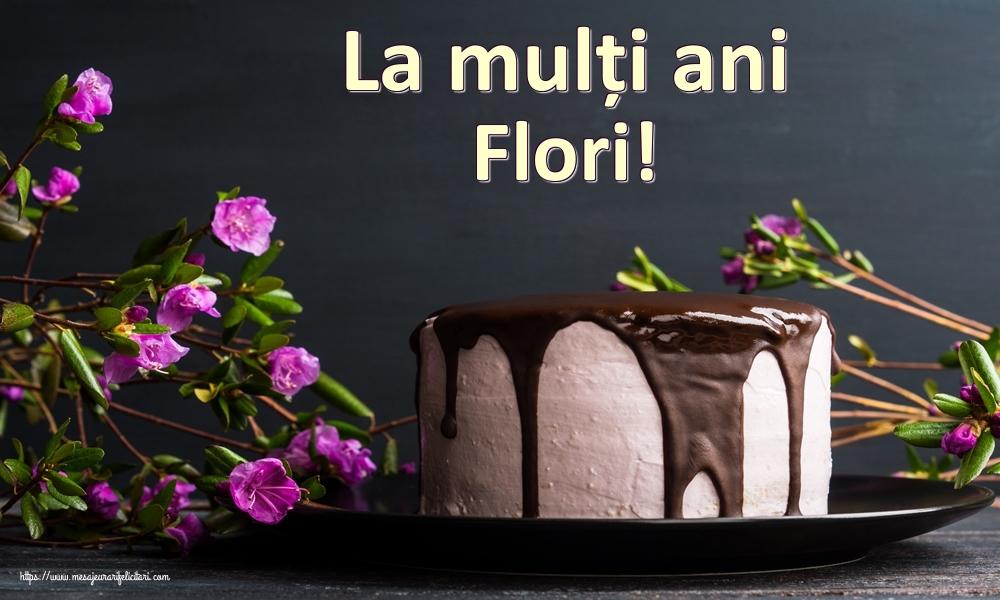 Felicitari de zi de nastere   La mulți ani Flori!