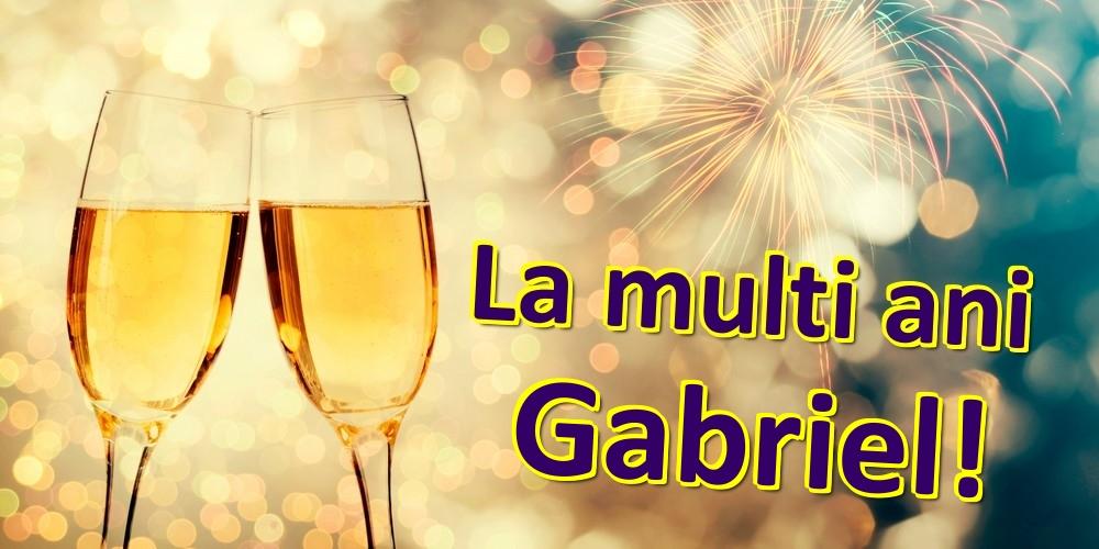 Felicitari de zi de nastere | La multi ani Gabriel!