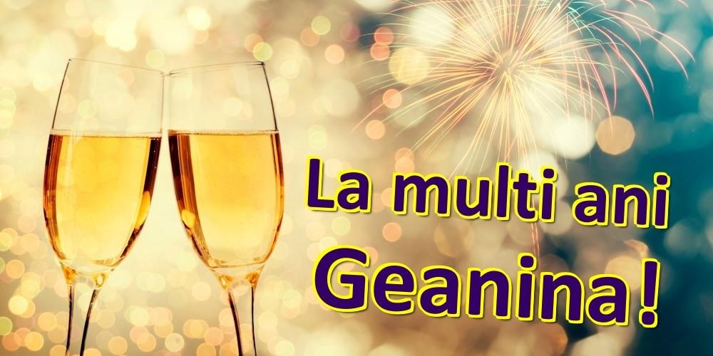 Felicitari de zi de nastere | La multi ani Geanina!