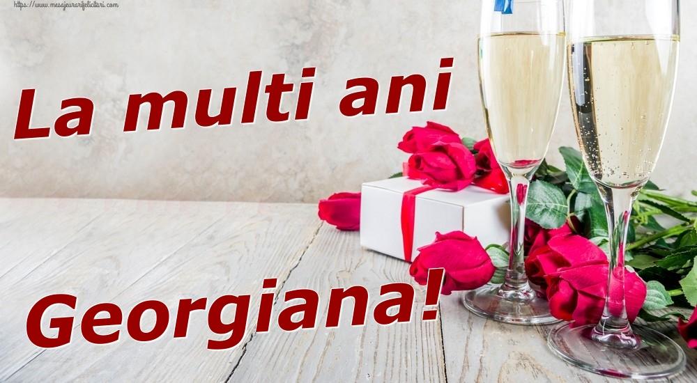 Felicitari de zi de nastere | La multi ani Georgiana!