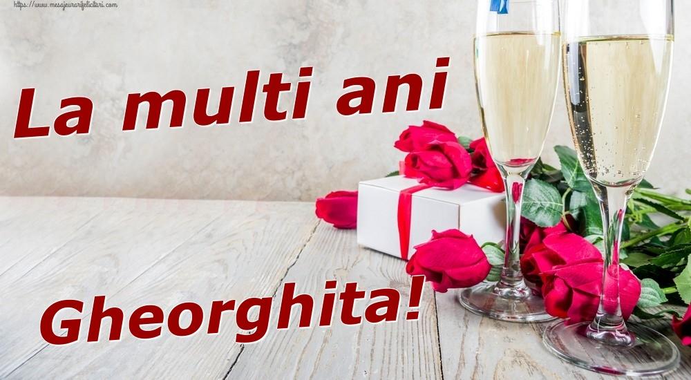 Felicitari de zi de nastere | La multi ani Gheorghita!