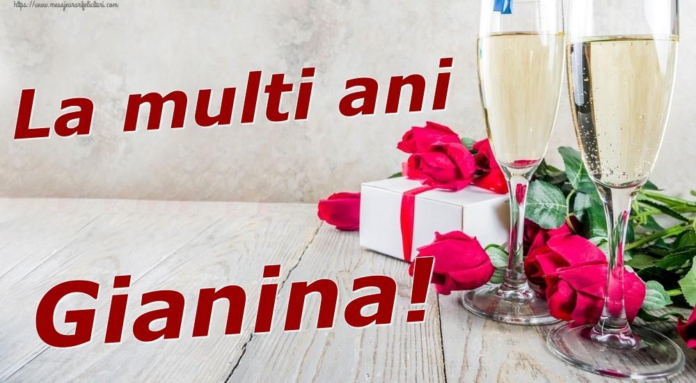 Felicitari de zi de nastere | La multi ani Gianina!