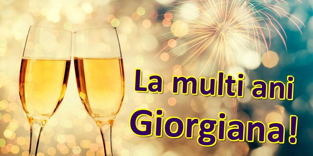 Felicitari de zi de nastere | La multi ani Giorgiana!
