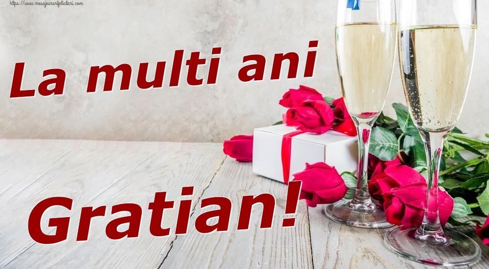 Felicitari de zi de nastere | La multi ani Gratian!