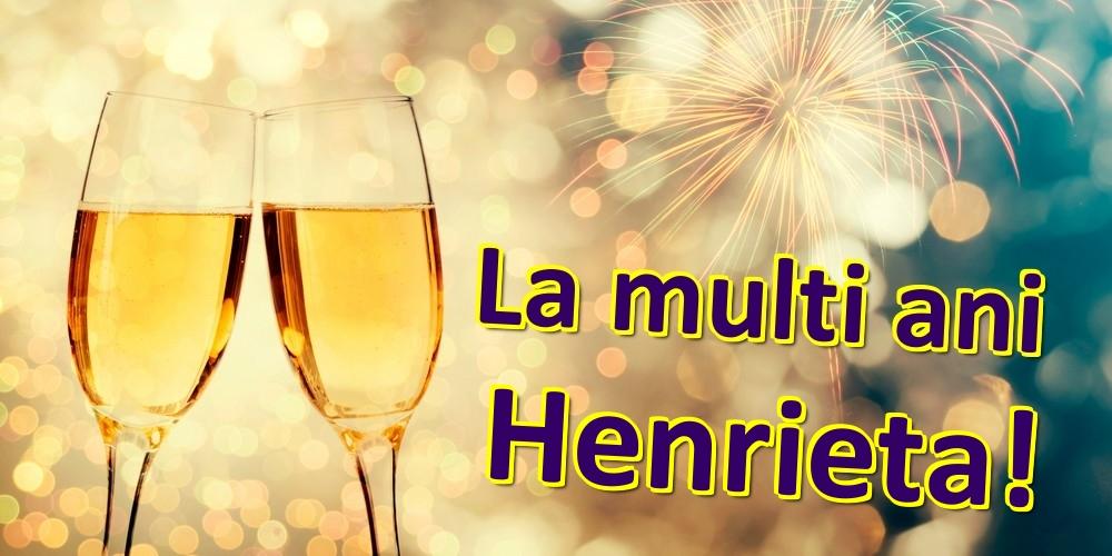 Felicitari de zi de nastere | La multi ani Henrieta!