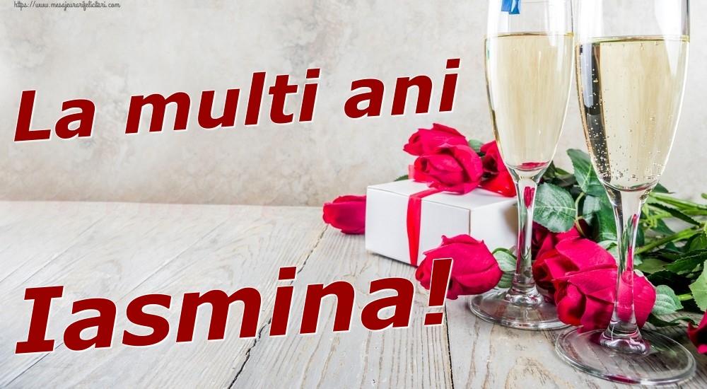 Felicitari de zi de nastere | La multi ani Iasmina!