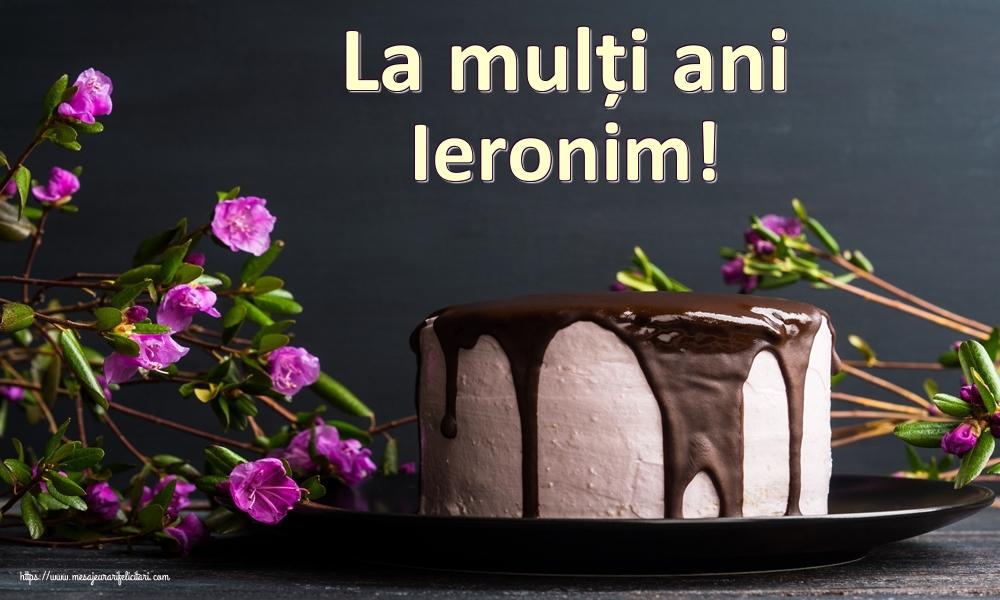 Felicitari de zi de nastere | La mulți ani Ieronim!