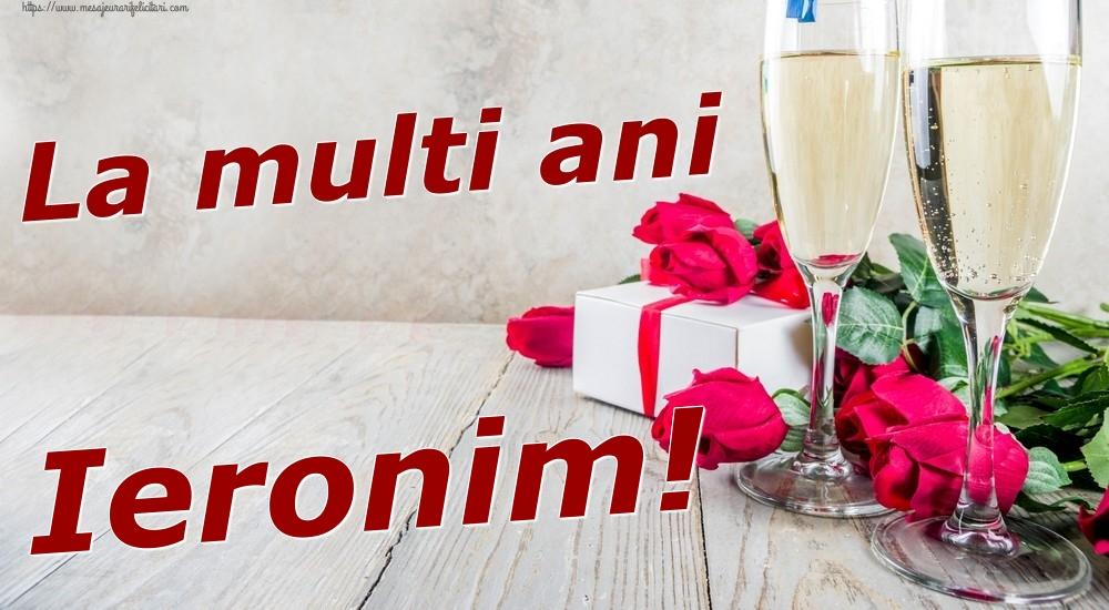 Felicitari de zi de nastere | La multi ani Ieronim!
