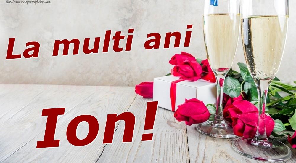 Felicitari de zi de nastere | La multi ani Ion!