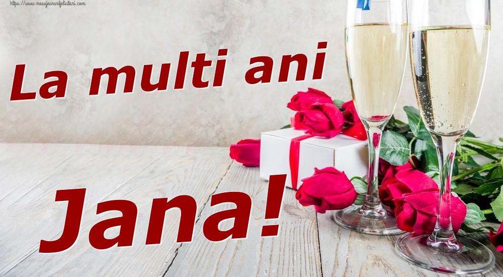 Felicitari de zi de nastere | La multi ani Jana!