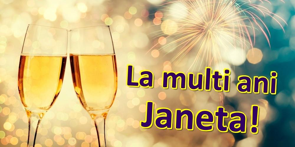 Felicitari de zi de nastere | La multi ani Janeta!
