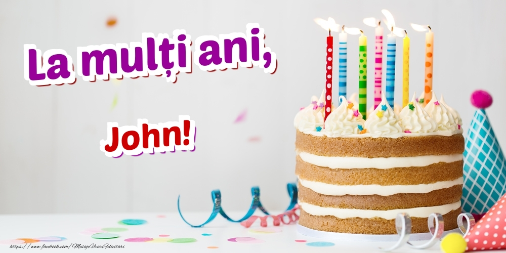 Felicitari de zi de nastere | La mulți ani, John