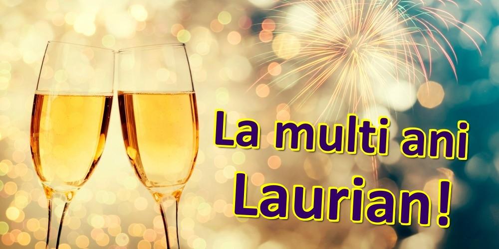 Felicitari de zi de nastere   La multi ani Laurian!