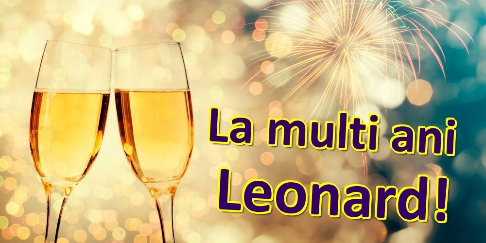 Felicitari de zi de nastere | La multi ani Leonard!