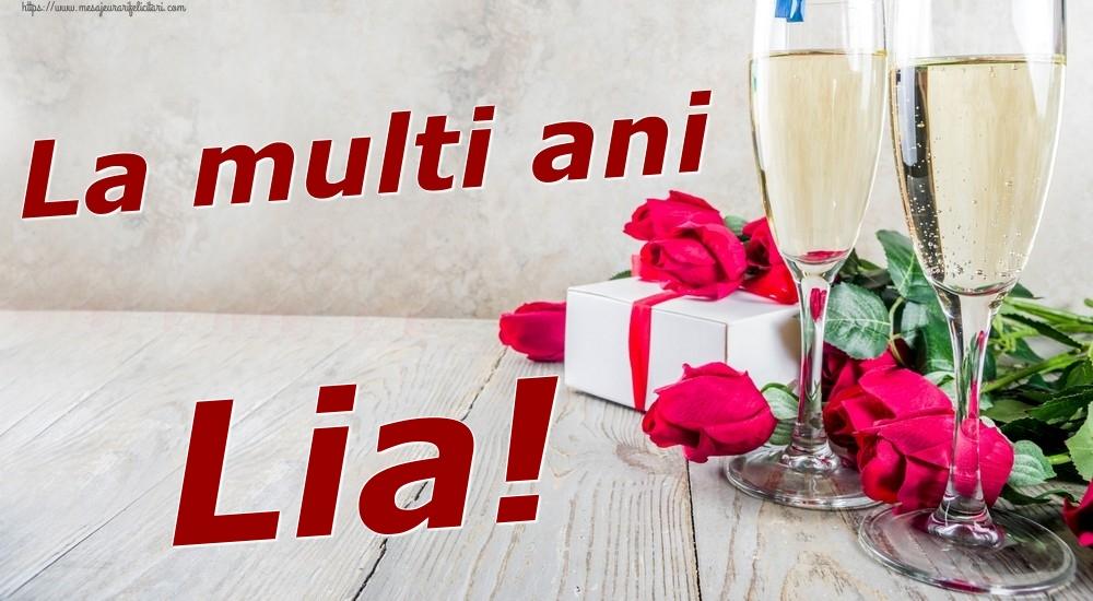 Felicitari de zi de nastere | La multi ani Lia!
