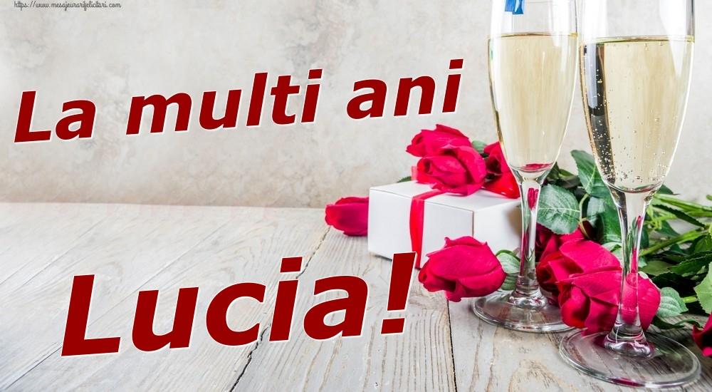 Felicitari de zi de nastere | La multi ani Lucia!