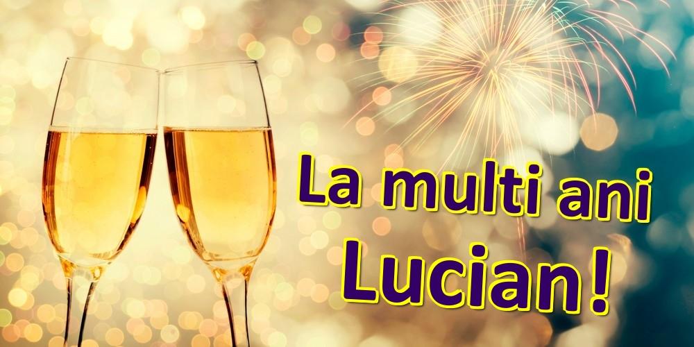 Felicitari de zi de nastere | La multi ani Lucian!