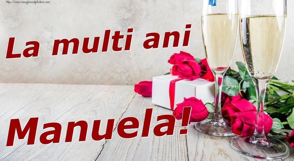 Felicitari de zi de nastere | La multi ani Manuela!