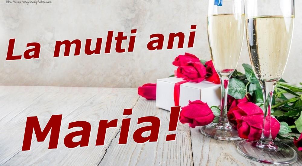 Felicitari de zi de nastere | La multi ani Maria!