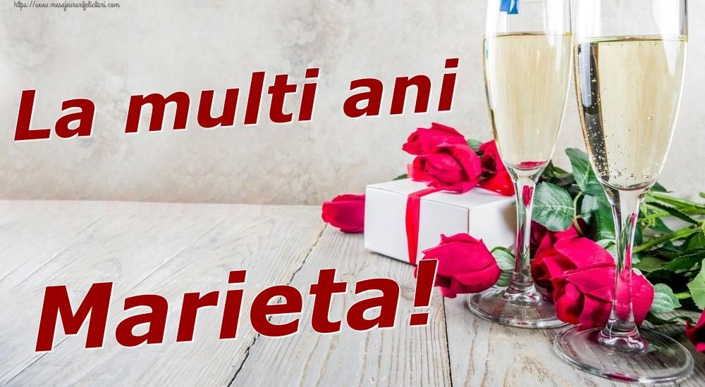 Felicitari de zi de nastere | La multi ani Marieta!