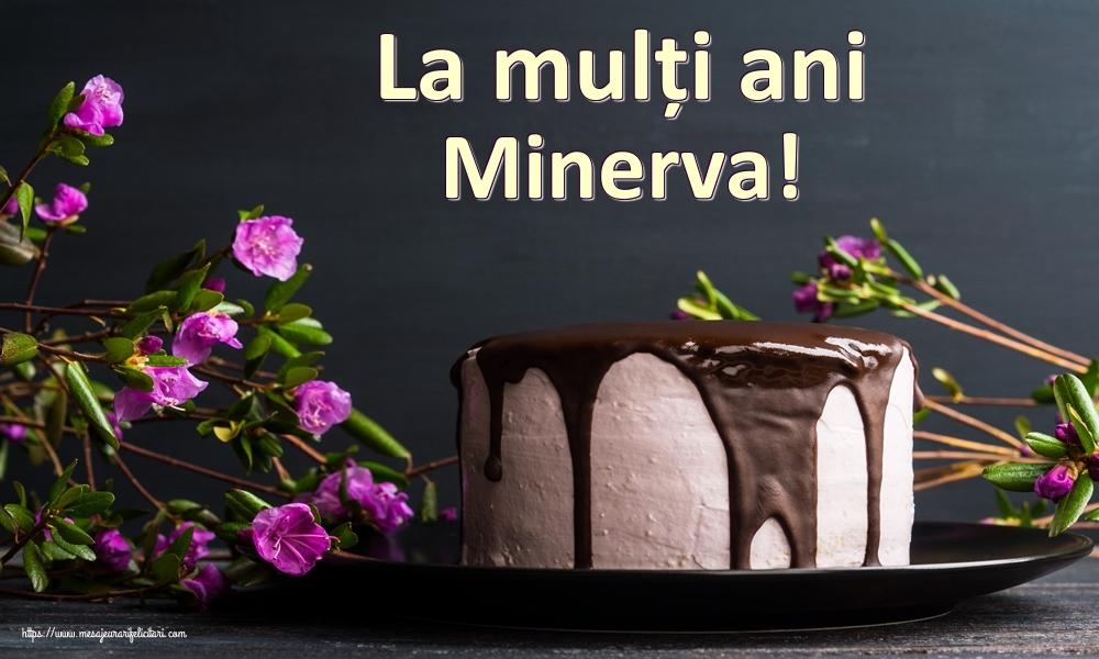 Felicitari de zi de nastere   La mulți ani Minerva!