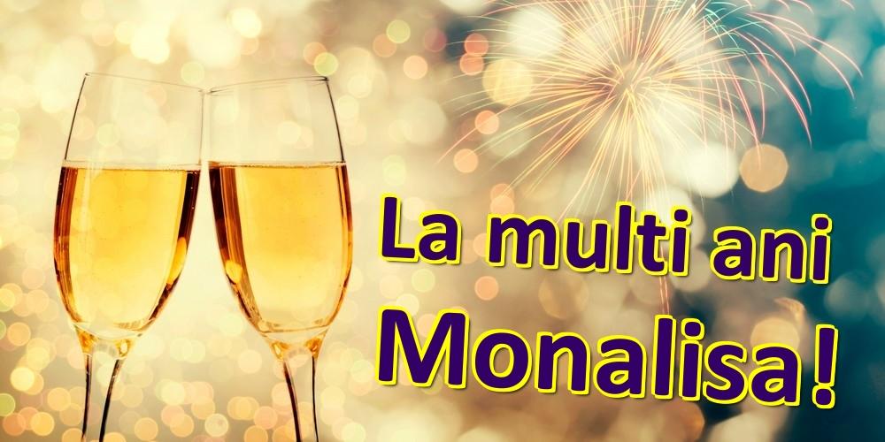 Felicitari de zi de nastere | La multi ani Monalisa!