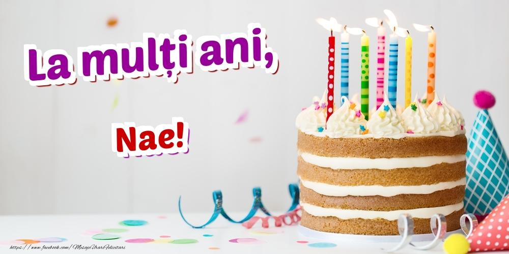 Felicitari de zi de nastere | La mulți ani, Nae