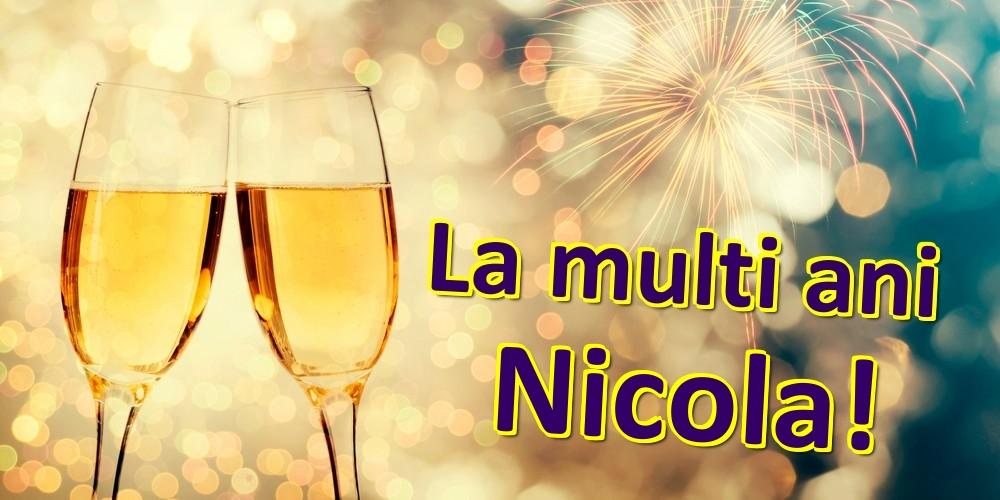 Felicitari de zi de nastere | La multi ani Nicola!