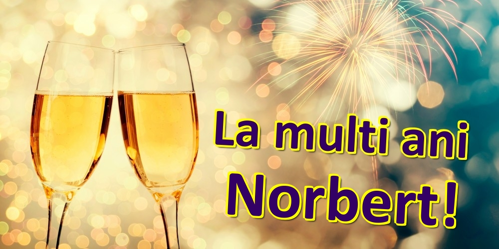 Felicitari de zi de nastere | La multi ani Norbert!