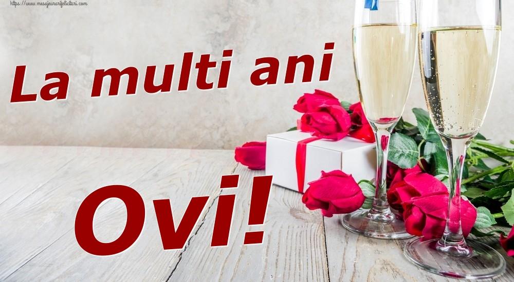 Felicitari de zi de nastere | La multi ani Ovi!