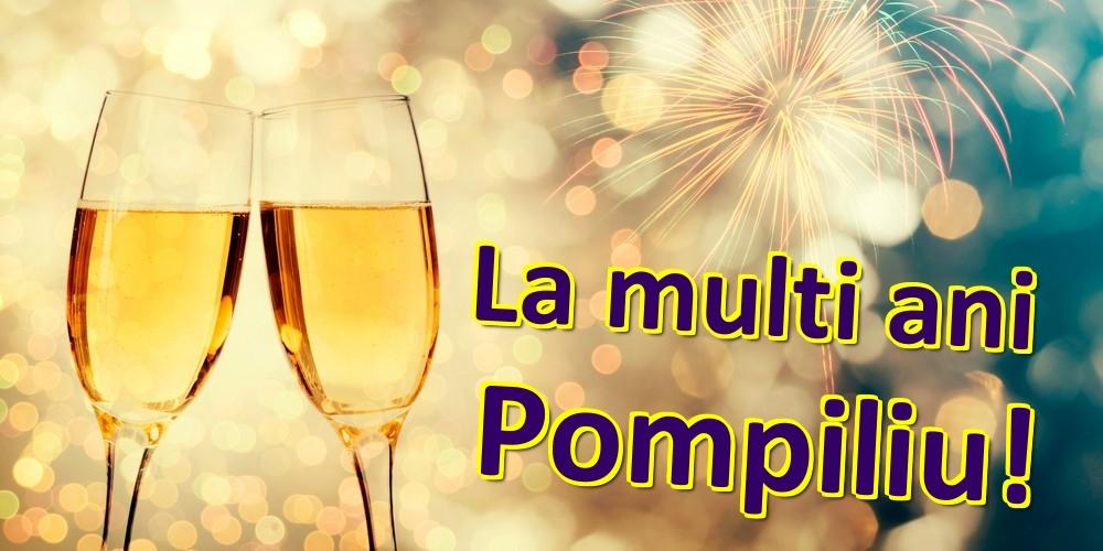 Felicitari de zi de nastere | La multi ani Pompiliu!