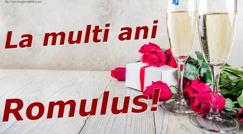 Felicitari de zi de nastere | La multi ani Romulus!