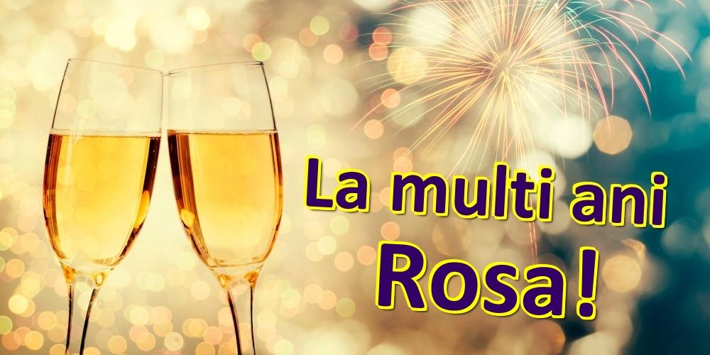 Felicitari de zi de nastere   La multi ani Rosa!