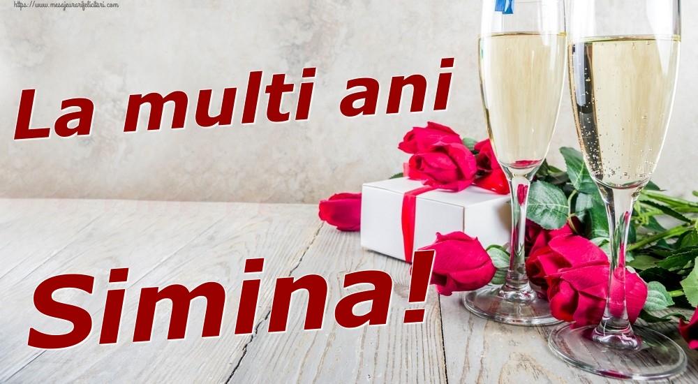 Felicitari de zi de nastere | La multi ani Simina!